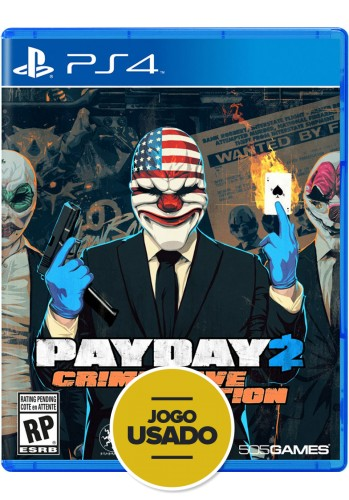 Payday 2 - Crimewave Edition - PS4 (Usado)