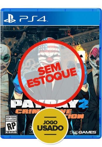 Payday 2 - Crimewave Edition - PS4 (Usado)