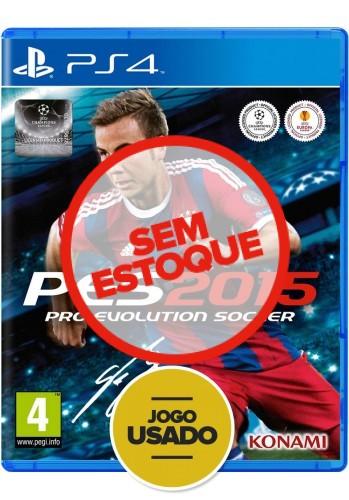 PES 2015 (seminovo) - PS4