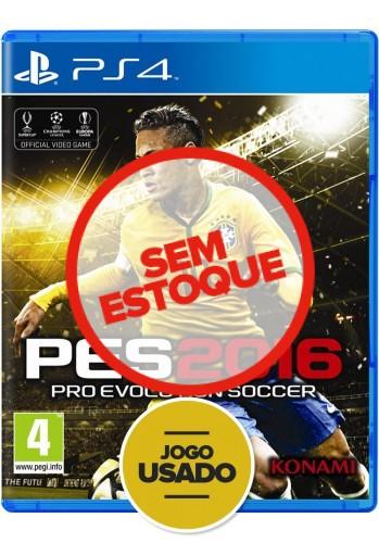 PES 2016: Pro Evolution Soccer - PS4 ( Usado )