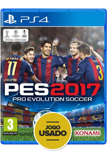 PES 2017: Pro Evolution Soccer - PS4 ( Usado )