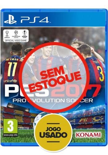 PES 2017: Pro Evolution Soccer - PS4 ( Usado )
