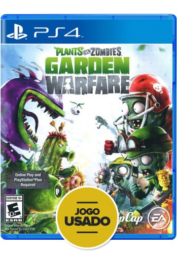 Plants vs Zombies Garden Warfare (seminovo) - PS4