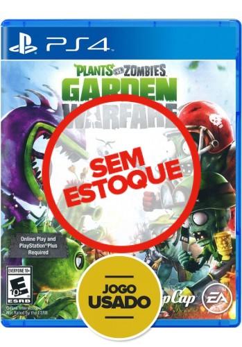 Plants vs Zombies Garden Warfare (seminovo) - PS4