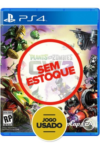 Plants vs Zombies Garden Warfare 2 - PS4 ( Usado )