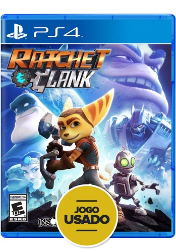 Ratchet Clank (seminovo) - PS4
