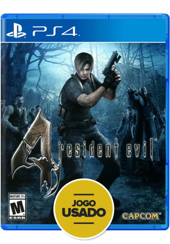 Resident Evil 4: Remastered - PS4 (Usado)