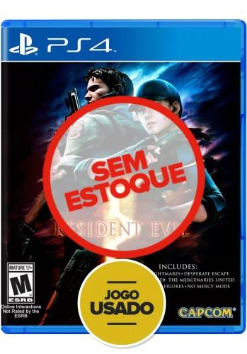 Resident Evil 5 (seminovo) - PS4