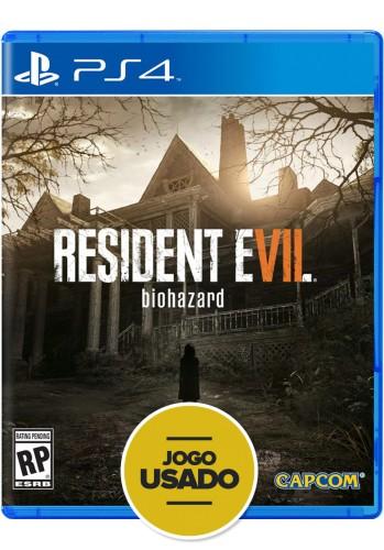 Resident Evil 7: Biohazard - PS4 ( Usado )