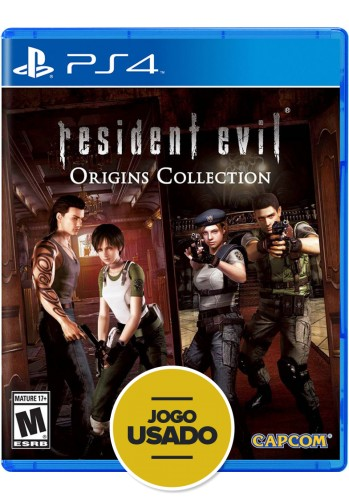 Resident Evil - Origins Collection - PS4 (Usado)
