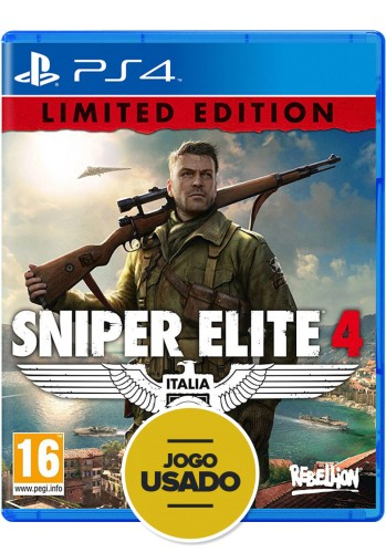 Sniper Elite 4 - PS4 ( Usado )