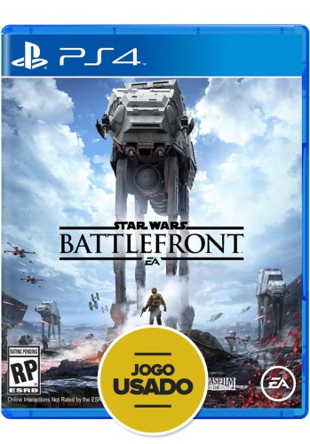 Star Wars: Battlefront - PS4 ( Usado )