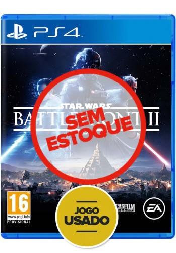 Star Wars - Battlefront II - PS4 (Usado)