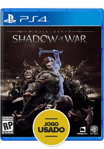 Terra-Média: Sombras da Guerra - PS4 (Usado)