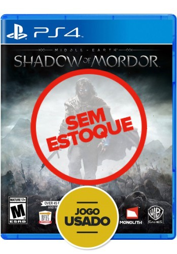 Sombras de Mordor (Shadow of Mordor) - PS4 ( Usado )