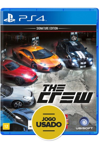 The Crew: Signature Edition - PS4 ( Usado )