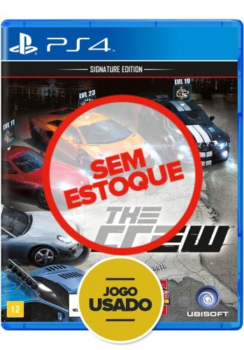 The Crew: Signature Edition - PS4 ( Usado )