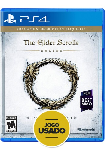 The Elder Scrolls - Online (seminovo) - PS4