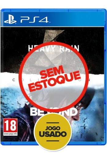The Heavy Rain & Beyond Two Souls Collection - PS4 (Usado)
