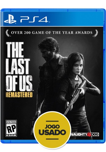 The Last of Us Remasterizado (seminovo) - PS4