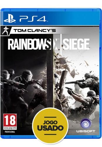 Tom Clancy's Rainbow Six Siege - PS4 (Usado)