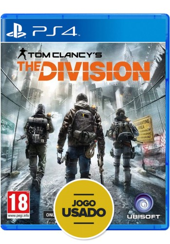 Tom Clancy's: The Division - PS4 ( Usado )