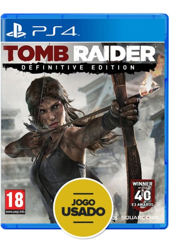 Tomb Raider: Definitive Edition (seminovo) - PS4
