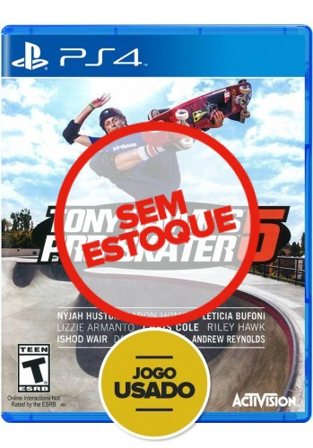 Tony Hawk's Pro Skater 5 - PS4 (Usado)