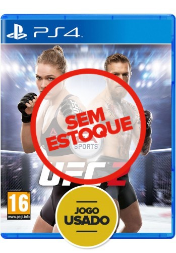 UFC 2 (seminovo) - PS4
