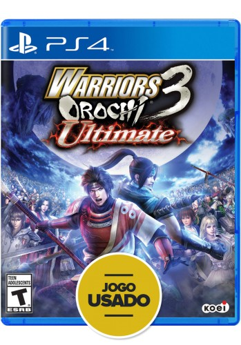 Warriors Orochi 3 Ultimate (seminovo) - PS4