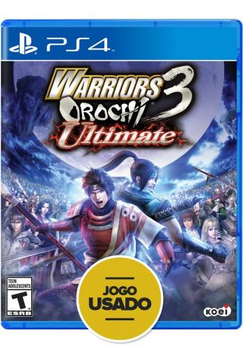 Warriors Orochi 3 Ultimate (seminovo) - PS4