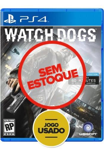 Watch Dogs (seminovo) - PS4