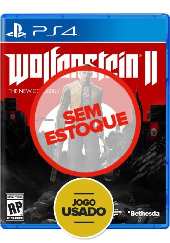 Wolfenstein II - The New Colossus - PS4 (Usado)