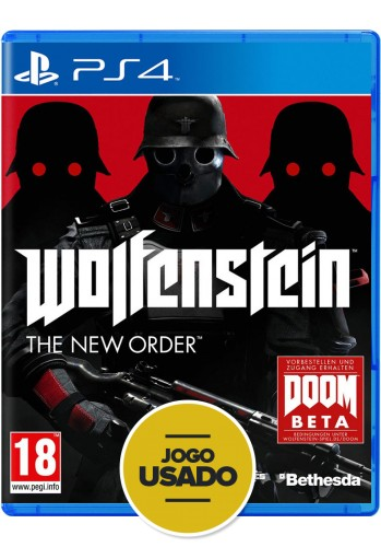 Wolfenstein: The New Order (seminovo) - PS4
