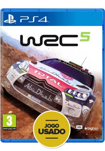 WRC 5 - PS4 (Usado)