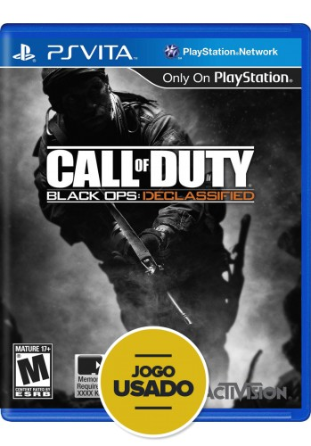 Call of Duty - Black Ops: Declassified (seminovo) - PS VITA
