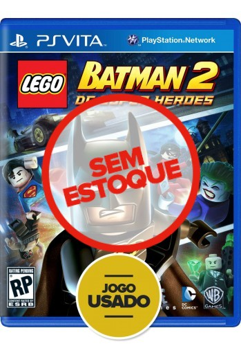 Lego Batman 2: DC Super Heroes (seminovo) - PS VITA
