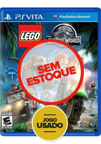 Lego Jurassic World (seminovo) - PS VITA