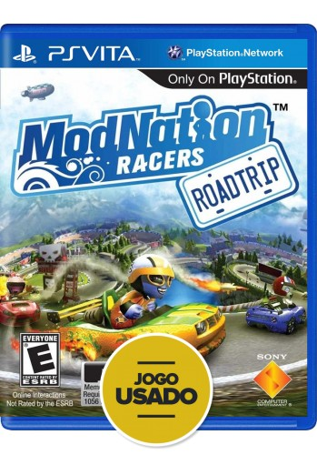 Modnation Racers: Road Trip (seminovo) - PS VITA