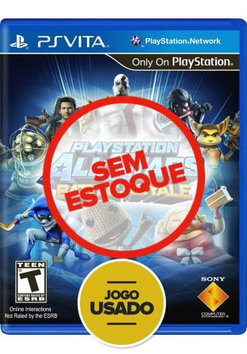 Playstation All-Stars Battle Royale (seminovo) - PS VITA