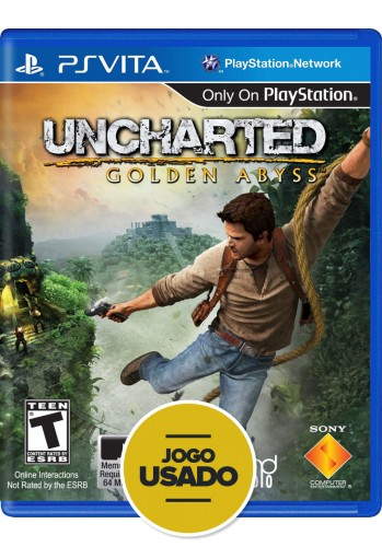 Uncharted Golden Abyss (seminovo) - PS VITA