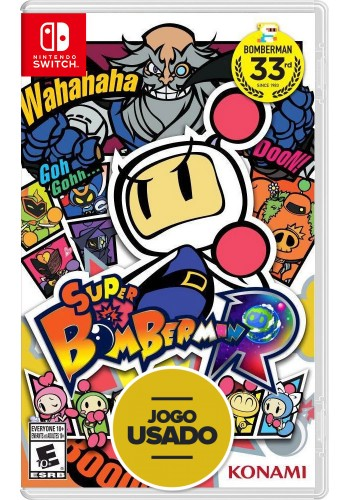 Super Bomberman R - Switch (Usado)