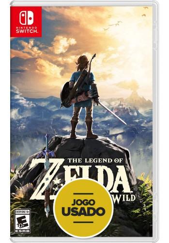 The Legend of Zelda: Breath Of The Wild - Switch (Usado)