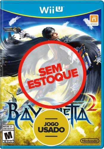 Bayonetta 2 - WiiU ( Usado )