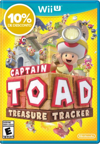 Captain Toad: Treasure Tracker - WiiU (Usado)