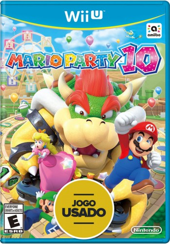 Mario Party 10 - WiiU ( Usado )