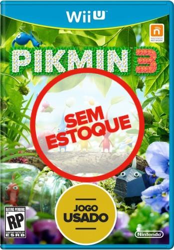 Pikmin 3 - WiiU ( Usado )
