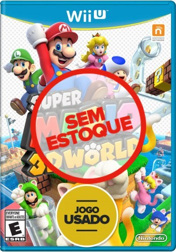 Super Mario 3D World - WiiU ( Usado )