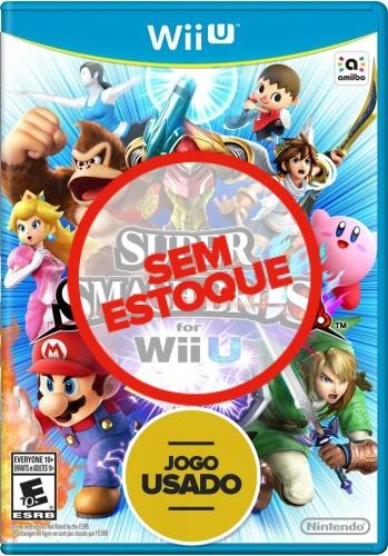 Super Smash Bros - WiiU ( Usado )