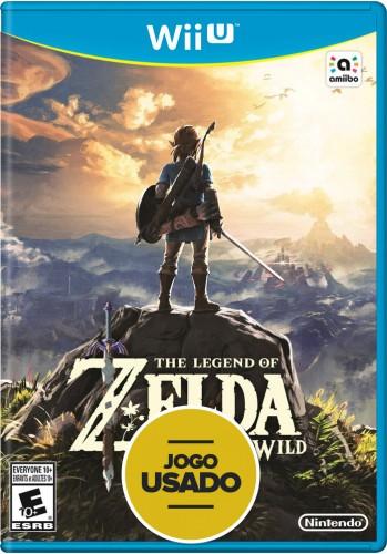 The Legend Of Zelda: Breath Of The Wild - WiiU ( Usado )